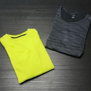 Marled Grey Hottoties Thumbhole Warm Shirt, Large
